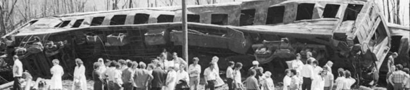 В этом году исполнилось 32 года с момента крупнейшей железнодорожной катастрофы